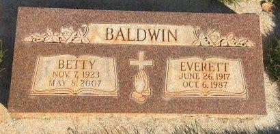 BALDWIN, EVERETT - Garfield County, Colorado   EVERETT BALDWIN - Colorado Gravestone Photos