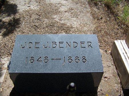BENDER, JOE J. - Garfield County, Colorado   JOE J. BENDER - Colorado Gravestone Photos