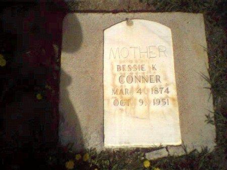 CONNER, BESSIE K - Garfield County, Colorado | BESSIE K CONNER - Colorado Gravestone Photos