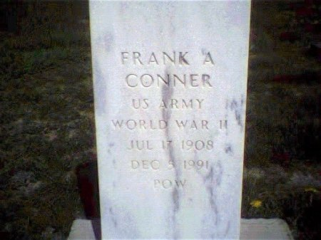 CONNER, FRANK A - Garfield County, Colorado   FRANK A CONNER - Colorado Gravestone Photos