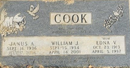 COOK, EDNA V - Garfield County, Colorado | EDNA V COOK - Colorado Gravestone Photos