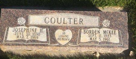 COULTER, BORDEN MCKEE - Garfield County, Colorado | BORDEN MCKEE COULTER - Colorado Gravestone Photos