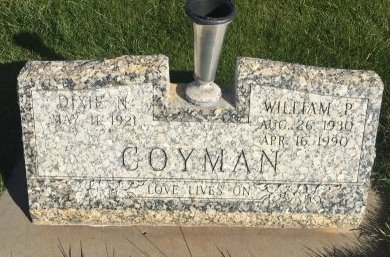 COYMAN, WILLIAM P - Garfield County, Colorado | WILLIAM P COYMAN - Colorado Gravestone Photos
