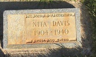 DAVIS, NITA - Garfield County, Colorado | NITA DAVIS - Colorado Gravestone Photos