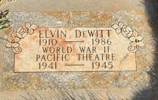 DEWITT, ELVIN - Garfield County, Colorado | ELVIN DEWITT - Colorado Gravestone Photos