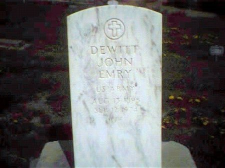 DEWITT, JOHN EMRY - Garfield County, Colorado | JOHN EMRY DEWITT - Colorado Gravestone Photos