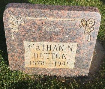 DUTTON, NATHAN N - Garfield County, Colorado | NATHAN N DUTTON - Colorado Gravestone Photos