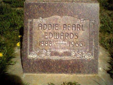 EDWARDS, ADDIE PEARL - Garfield County, Colorado | ADDIE PEARL EDWARDS - Colorado Gravestone Photos