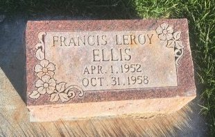 ELLIS, FRANCIS LEROY - Garfield County, Colorado   FRANCIS LEROY ELLIS - Colorado Gravestone Photos