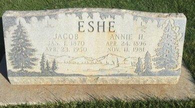 ESHE, JACOB - Garfield County, Colorado   JACOB ESHE - Colorado Gravestone Photos