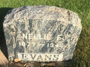 EVANS, NELLIE E - Garfield County, Colorado | NELLIE E EVANS - Colorado Gravestone Photos