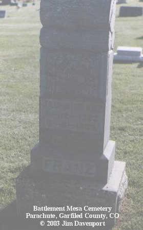 FRANZ, JACOB - Garfield County, Colorado | JACOB FRANZ - Colorado Gravestone Photos