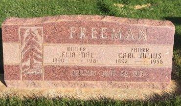 FREEMAN, CARL JULIUS - Garfield County, Colorado | CARL JULIUS FREEMAN - Colorado Gravestone Photos