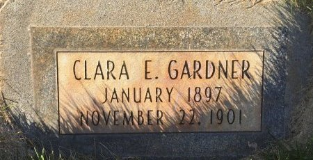 GARDNER, CLARA E - Garfield County, Colorado | CLARA E GARDNER - Colorado Gravestone Photos