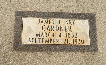 GARDNER, JAMES HENRY - Garfield County, Colorado | JAMES HENRY GARDNER - Colorado Gravestone Photos