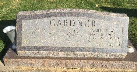 GARDNER, ALBERT W - Garfield County, Colorado | ALBERT W GARDNER - Colorado Gravestone Photos
