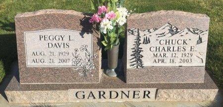 GARDNER, CHARLES E - Garfield County, Colorado | CHARLES E GARDNER - Colorado Gravestone Photos