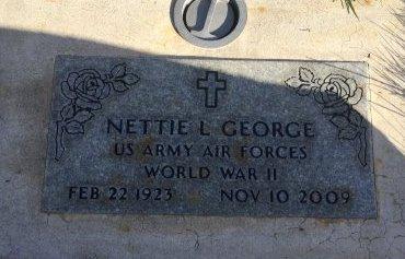 GEORGE, NETTIE L - Garfield County, Colorado | NETTIE L GEORGE - Colorado Gravestone Photos