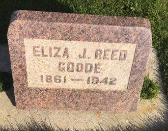 GOODE, ELIZA J - Garfield County, Colorado | ELIZA J GOODE - Colorado Gravestone Photos