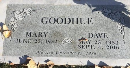 GOODHUE, DAVE - Garfield County, Colorado | DAVE GOODHUE - Colorado Gravestone Photos