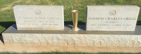 GREGG, WINNYE ELDER - Garfield County, Colorado | WINNYE ELDER GREGG - Colorado Gravestone Photos