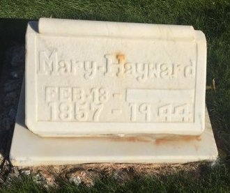 HAYWARD, MARY - Garfield County, Colorado   MARY HAYWARD - Colorado Gravestone Photos