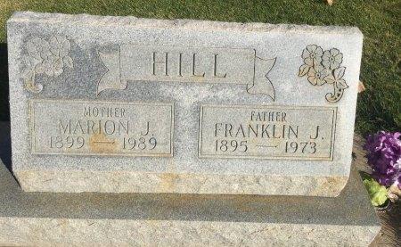 HILL, FRANKLIN J - Garfield County, Colorado | FRANKLIN J HILL - Colorado Gravestone Photos