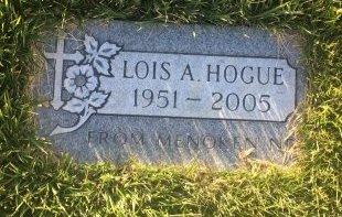 HOGUE, LOIS A - Garfield County, Colorado | LOIS A HOGUE - Colorado Gravestone Photos
