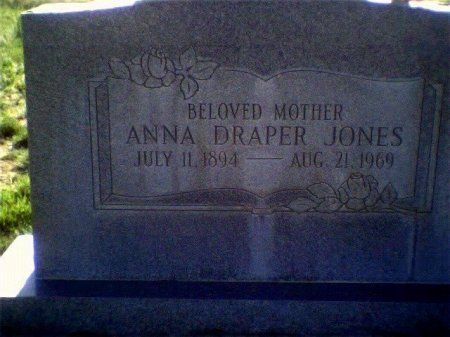 JONES, ANNA - Garfield County, Colorado | ANNA JONES - Colorado Gravestone Photos
