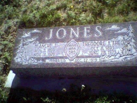 JONES, BLANCHE L - Garfield County, Colorado | BLANCHE L JONES - Colorado Gravestone Photos