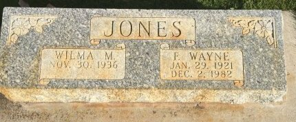 JONES, F WAYNE - Garfield County, Colorado | F WAYNE JONES - Colorado Gravestone Photos