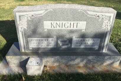 KNIGHT, GRANT A - Garfield County, Colorado | GRANT A KNIGHT - Colorado Gravestone Photos