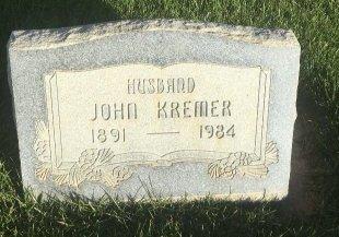 KREMER, JOHN - Garfield County, Colorado | JOHN KREMER - Colorado Gravestone Photos