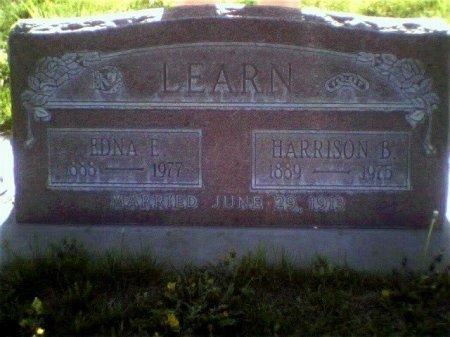 LEARN, EDNA E - Garfield County, Colorado   EDNA E LEARN - Colorado Gravestone Photos