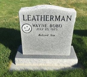 LEATHERMAN, WAYNE BOBO - Garfield County, Colorado | WAYNE BOBO LEATHERMAN - Colorado Gravestone Photos