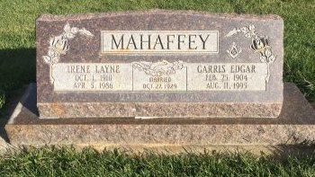 MAHAFFEY, IRENE LAYNE - Garfield County, Colorado | IRENE LAYNE MAHAFFEY - Colorado Gravestone Photos