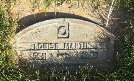 MARTIN, LOUISE - Garfield County, Colorado | LOUISE MARTIN - Colorado Gravestone Photos