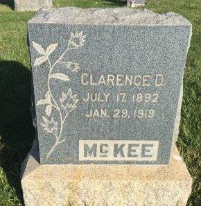 MCKEE, CLARENCE D - Garfield County, Colorado   CLARENCE D MCKEE - Colorado Gravestone Photos