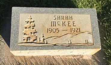 MCKEE, SARAH - Garfield County, Colorado   SARAH MCKEE - Colorado Gravestone Photos