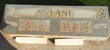 """MCLANE, A.L. """"SCOTTY"""" - Garfield County, Colorado   A.L. """"SCOTTY"""" MCLANE - Colorado Gravestone Photos"""