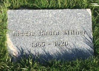 MILNER, LIZZIE - Garfield County, Colorado | LIZZIE MILNER - Colorado Gravestone Photos