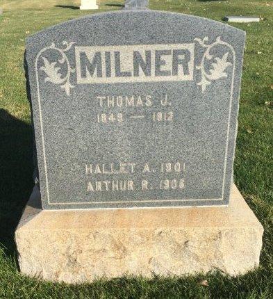 MILNER, HALLET A - Garfield County, Colorado | HALLET A MILNER - Colorado Gravestone Photos