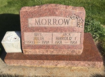 MORROW, JULIA - Garfield County, Colorado | JULIA MORROW - Colorado Gravestone Photos