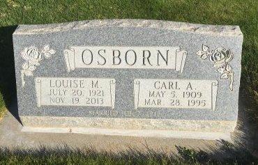 OSBORN, LOUISE M - Garfield County, Colorado | LOUISE M OSBORN - Colorado Gravestone Photos