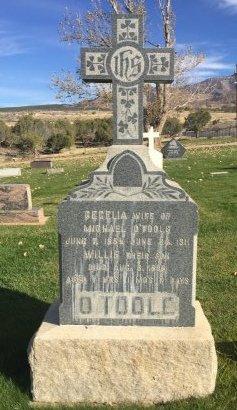 O'TOOLE, WILLIE - Garfield County, Colorado | WILLIE O'TOOLE - Colorado Gravestone Photos