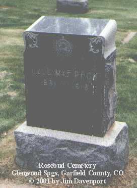 PECK, LULU MAE - Garfield County, Colorado | LULU MAE PECK - Colorado Gravestone Photos