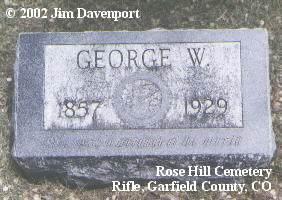 PITTMAN, GEORGE W. - Garfield County, Colorado | GEORGE W. PITTMAN - Colorado Gravestone Photos