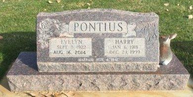 PONTIUS, HARRY - Garfield County, Colorado | HARRY PONTIUS - Colorado Gravestone Photos
