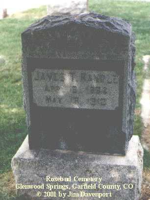 RANDLE, JAMES T. - Garfield County, Colorado | JAMES T. RANDLE - Colorado Gravestone Photos