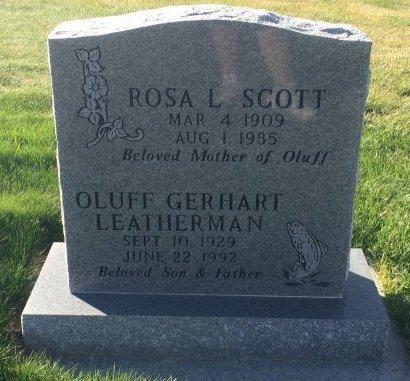 SCOTT, ROSA L - Garfield County, Colorado | ROSA L SCOTT - Colorado Gravestone Photos